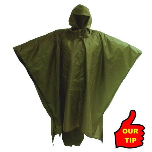 Jurek Raincoat DUO Olive Green L